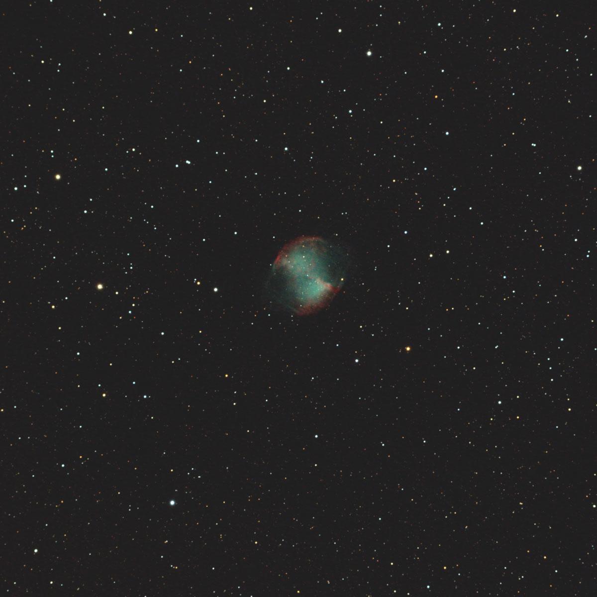 亜鈴状星雲