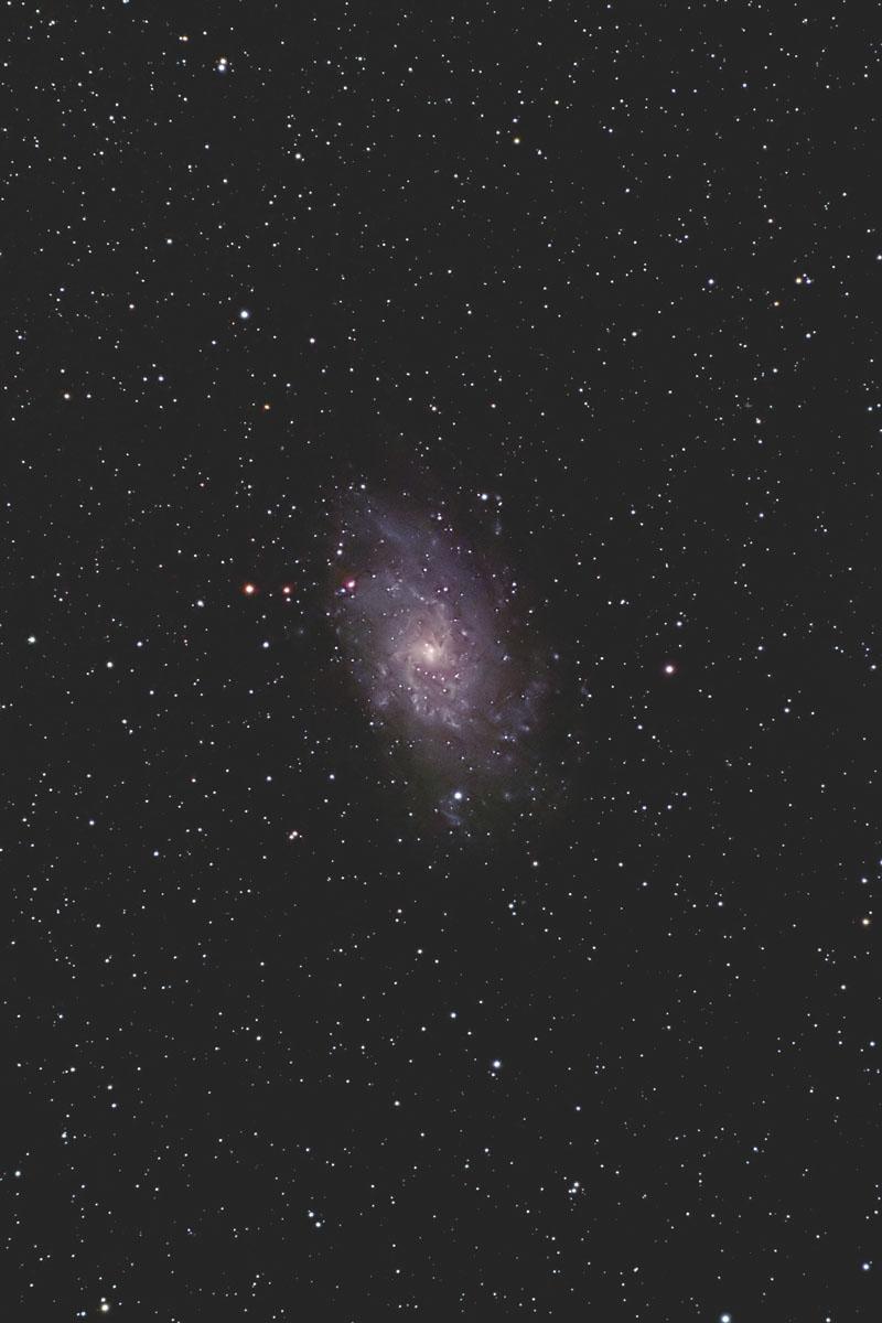 M33(系外銀河、さんかく座)