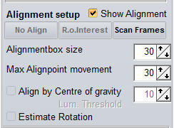 Alignment setup
